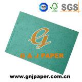 Tarjetas coloridas del papel de imprenta del nuevo estilo verde PC103