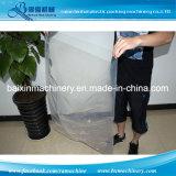 La bolsa de plástico del detergente de la solubilidad de agua que hace la máquina