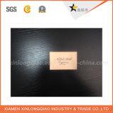 Biglietti da visita placcati oro su ordinazione della carta kraft dell'OEM della Cina
