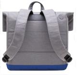 Европ и тенденция Соединенных Штатов мешков компьютера делают серый цвет водостотьким мешка холстины людей и женщин Backpack крышки вскользь с большой емкостью для оптовой продажи