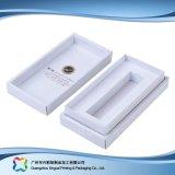 Подгонянная коробка картона упаковывая для косметики/ювелирных изделий/дух (XC-1-055)