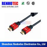 빨간 플라스틱 3G 4G HDMI Tyco 전자공학 연결관