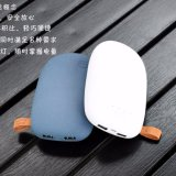 玉石の形の新しいデザイン携帯用力バンク6000mAh