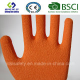 Латекс заморозил перчатки, перчатки работы безопасности отделки Sandy (SL-R501)