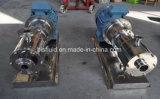 Tesoura elevada industrial que circula a bomba acrílica da planta da emulsão