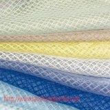 Tessuto dell'indumento del jacquard tinto prodotto chimico del poliestere per la tenda del vestito pieno