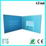 Video cartolina d'auguri di /LCD della cartolina d'auguri di Shenzhen