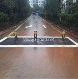 Tamaño personalizado automático remoto hidráulico Seguridad en las carreteras Ruta Bloqueador, Caja Aparcamiento Blocker, coche de seguridad Bloqueador