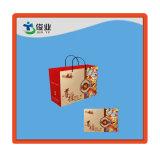 Bolso de papel de encargo del regalo de la impresión para el vino
