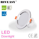 3W diodo emissor de luz Downlight de 2.5 polegadas iluminam-se para baixo com a lâmpada do teto de Ce&RoHS