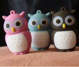 Owl moldar o PVC USB Flash Drive USB sticks Mini