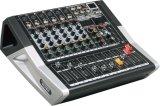 De speciale Nieuwe Ontwerp Aangedreven Versterker van de Reeks van de Mixer Te600 Professionele Audio