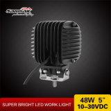 """5 """" 48W luz auto LED que conduce la lámpara con el Ce RoHS"""