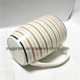 Tazza di caffè di ceramica di stampa completa della banda