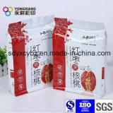 Bolsa de embalaje de plástico para las nueces y frutas secas