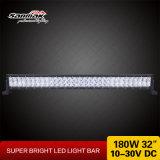 Barre lumineuse superbe 4X4 d'éclairage LED de RoHS 180W de la CE de DEL Manufacuturers 6000k tous terrains