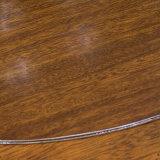 Table de salle à manger ronde en bois massif de conception simple pour usage domestique de bonne qualité As836