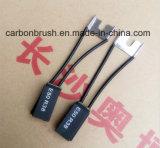 Cepillo de carbón del electrografito de la alta calidad E50R38
