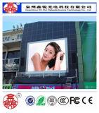 広告のための屋外の高い明るさのP10によって防水されるLED表示Screeen