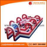 Pista de Corrida de ar inflável pista de corridas de automóveis para as crianças (T9-605)
