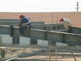 Construção de aço pintada útil para o parque de estacionamento & o quadrado comercial