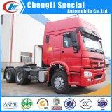 판매를 위한 Sinotruk HOWO 10 바퀴 336HP 371HP 420HP 트랙터 헤드 트럭