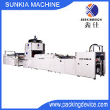 Máquina automática de alta velocidade da laminação da película do indicador com Voar-Faca (XJFMKC-120)