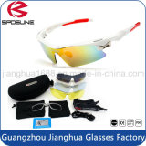 La mejor calidad de la PC Sun Gear de ciclismo Pesca Equitación Sport Gafas con estuche para gafas de sol