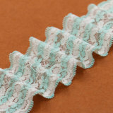 Barato Guipure Floral impressas as rendas de têxteis para tecido de malha de toalha de mesa