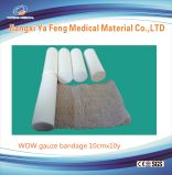 Fasciatura chirurgica 100% della garza del cotone caldo di vendita