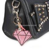 方法宝石類によって詰められる枕ダイヤモンド袋のアクセサリのキーホルダーの装飾のギフト
