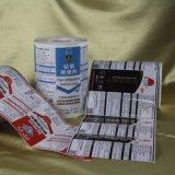 Étiquette adhésive faite sur commande estampée de collant de qualité pour des ventes en gros