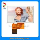 4,3 polegadas de 480 x 272p TFT LCD RGB com painel táctil de tela de toque alto brilho