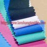 Tingidos de tecido de poliéster de fibras químicas vestido de mulher para lubrificar as crianças Garment
