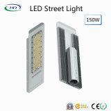 Luz de rua quente do diodo emissor de luz da venda 150W com o excitador do poço do meio