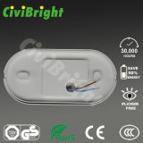 IP64 Oval 8W LED Bulkhead Lights avec Ce RoHS