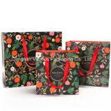 Печать бумажных мешков для пыли для косметической упаковки, салон красоты упаковку Bag