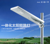 Indicatore luminoso di via solare della fabbrica 15W di Guangzhou tutto in uno