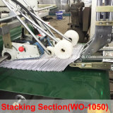Verificación automática de la esquina de la carpeta Gluer 4/6 de la máquina (WO-1050PC-R).