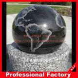 Esfera de granito preto com G603 Fonte da base de dados