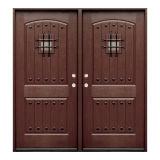 Porta de vidro do composto das portas FRP da altura cheia da porta interior