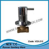 Eingebautes Messingabsperrventil (V23-212)