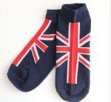 Носок лодыжки типа улицы флага Англии для Men&Women