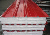 Дешевая панель стены EPS панели сандвича EPS (пены полистироля) сделанная из Corrugated стального листа PPGI профилировала лист стального листа покрынный цветом стальной