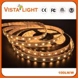 Lumière de bande flexible de SMD 5050 12V RVB DEL pour des hôtels