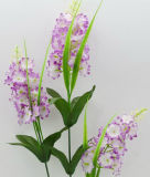 /Plástico artificial/Haste única flor de seda de lilás (XF31023)
