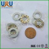 Миниатюрный шаровой подшипник F4-10 F4-10m Sf4-10 тяги плоскости нержавеющей стали