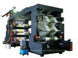 Impresora de Flexo del bolso de compras de la alta precisión de la película del PE