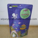 L'alimento personalizzato di 100g 200g si leva in piedi in su il sacchetto di plastica a chiusura lampo