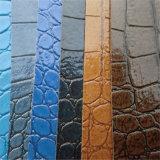 ساطع لون تمساح [بفك] جلد لأنّ حقائب كرسي تثبيت زخرفة